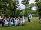 Svatební párty zámek Chateau St. Havel Praha