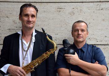 David Štěrbáček a Tomáš Průša – Live Sax